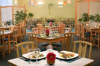 Restaurant in Hotel Ibis Vaci ut Budapest, in the Dozsa