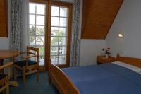 Hotelroom with panoramic view in Keszthely in Wellness Hotel Kakadu