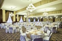 Elegant conference room of the  Hotel Kapitany in Sumeg ideal location for weddings and conferences