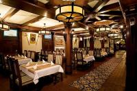 Restaurant of the Hotel Kapitany in Sumeg with low price packages with half board