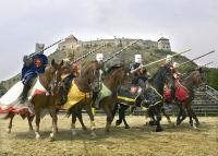 Knight's tournament of Sumeg and various programs near the Hotel Kapitany and the Castle of Sumeg