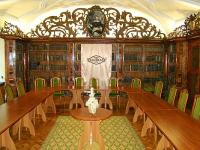 Hotel Klastrom, meeting room in the castle hotel in the centre of Gyor