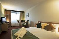 Privilege double room in Hotel Mercure Budapest hotel Mercure Buda near tho the railway station