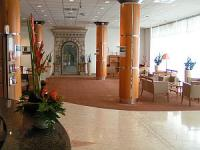 Lobby dell'HotelIbis Styles Budapest City - alberghi a 3 stelle a Budapest