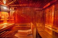 Fitness centre in Hotel Museum Budapest - sauna in Hotel Budapest Museum