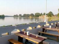 Tó Szálló Szeliditópart, Dunapataj - Panoramic Grill terrace at the Lake Hotel in Dunapataj