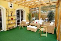 Winter garden in Hotel Panorama in Eger - cheap accommodation in Eger