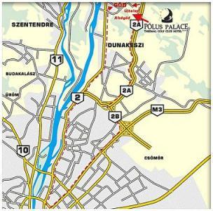 magyarország térkép göd Hotel Pólus Palace Termál Wellness Golf Club Göd magyarország térkép göd