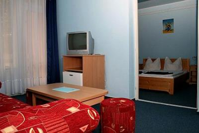 Apartment in Hotel Korona in Siofok - Balaton hotel - Hotel Korona Siofok - cheap Hotel at Lake Balaton