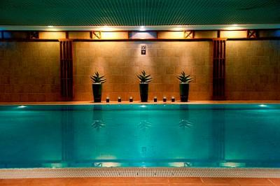 Piscine int rieure l 39 h tel sofitel chain bridge budapest - Hotel avec piscine interieure paris ...