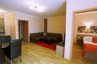 Solaris Apartman Resort Cserkeszőlő - Keuken appartement in Cserkeszolo, tegenover de spa