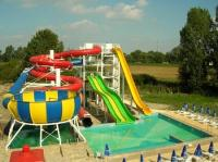Experience waterpark and Slide Park in Termalkristaly Hotel****
