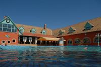 Swimming pool of Termal Hotel Liget in Erd