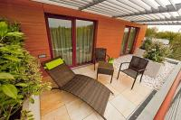 Terrace in Hotel Abacus - new wellness and conference hotel in Herceghalom