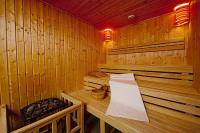 Sauna in Wellness Hotel Abacus - spa center in Herceghalom