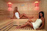 Finnish sauna in Hotel Sándor****Pecs - wellness weekend in Pecs