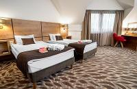 Hotel business y wellness en Budapest - Hotel Rubin de 4 estrellas - habitación - Hotel wellness Budapest, Centro de Wellness RUBIN - Rubin - Wellness - Conferencias - Business - Habitación superior