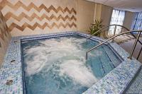 Bubbelbad in Hotel Rubin - wellnesscentrum in Wellness- en Conferentiehotel Rubin
