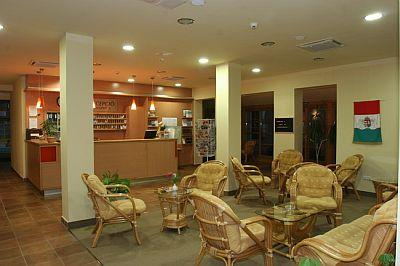 Reception in Zichy Park Hotel - wellness offers in Bikacs - Zichy Park Hotel**** Bikács - special wellness offers in Bikacs, Hungary