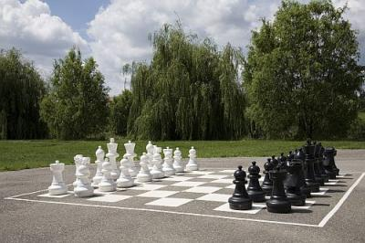 Outdoor chessboard in Hotel Zichy Park - active relaxing in Bikacs, Hungary - Zichy Park Hotel**** Bikács - special wellness offers in Bikacs, Hungary