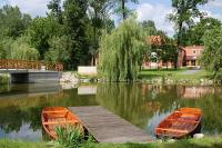 Pond in Hotel Zichy Park - family holiday in Bikacs Hungary