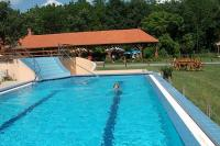 Swimming pool in Hotel Zichy Park - wellness treatments in Bikacs
