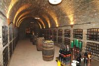 Wine cellar in Hotel Zichy Park in Bikacs Hungary
